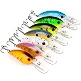 Wildlead 7 Pcs Wobbler Crank Fishing Lure Peche Artificial Bait Crankbait Jerkbait Swimbait