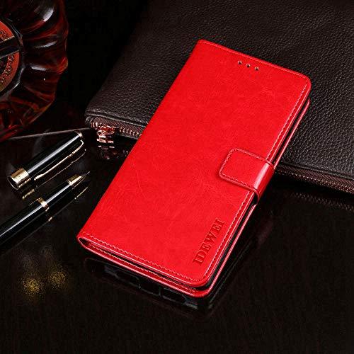 Manyip Oukitel K5 Hülle,Handyhülle Oukitel K5,TPU-Schutzhülle mit [Aufstellfunktion] [Kartenfächern] [Magnetverschluss] Brieftasche Ledertasche für Oukitel K5