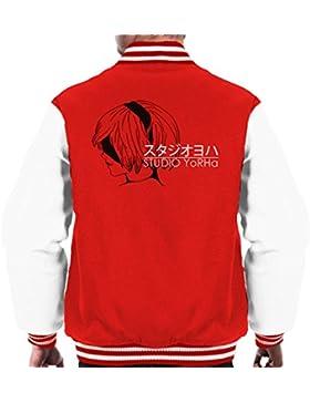 Studio Yorha Nier Ghibli Men's Varsity Jacket