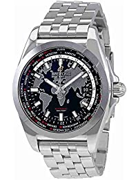 Breitling Galactic Unitime WB3510U4/BD94-375A Stainless Steel Men's Watch