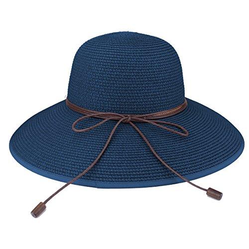 Sombrero de disquete Summer Beach Sombreros de paja de Sun Sombrero ... 101608e8872b