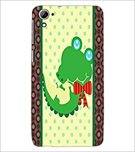 PrintDhaba Cartoon D-3364 Back Case Cover for HTC DESIRE 826 (Multi-Coloured)