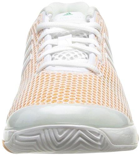 adidas Asmc Barricade, Chaussures de tennis femme Blanc (Blanc/Blanc/Orapla)