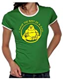 I HAVE THE BODY OF A GOD ! Buddha Girly Ringer S M L XL -