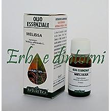 MELISSA Olio essenziale alimentare 10 ml - Nervosismo, ipertiroidismo
