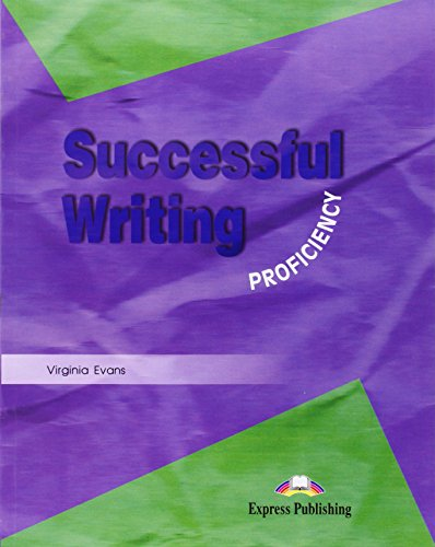 Successful Writing. Proficiency: Student's Book Proficiency por Vv.Aa.