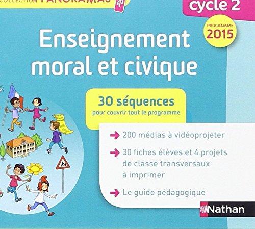 Enseignement moral et civique C2 cle ressources par Collectif