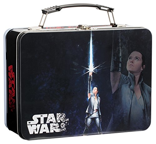 Vandor Star Wars The Last Jedi Large Tin Tote Lunch Box Rey Force Awakens Chewie