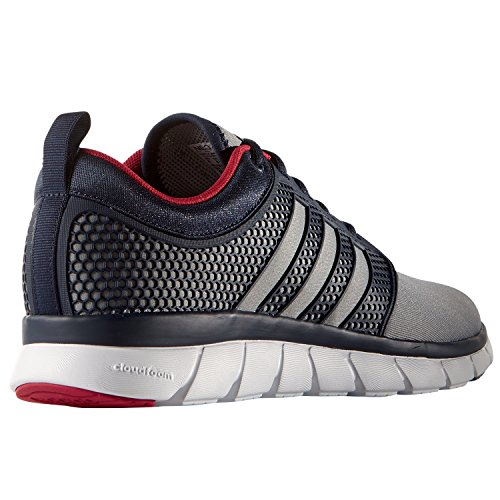 adidas - Cloudfoam Groove, Scarpe da ginnastica Uomo conavy-grey-ftwwht