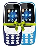 #1: I KALL 4.57 cm (1.8 Inch) Mobile Phone Combo - K3310 (Dark and sky blue) With feature of currency detector and Battery saving option