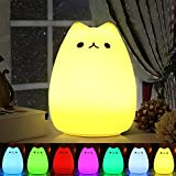 Luce Notturna LED , Omitium lampada per i bambini lampada gatto...