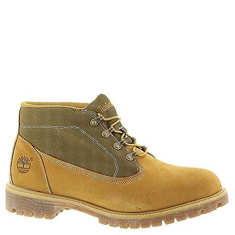 Timberland Men's Nubuck Icon Campsite Boots 10.5 D(M) US Wheat Nubuck/Olive Canvas