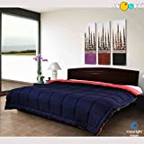 #10: Snoopy Home Ultra Soft Microfibre Reversible Double Bed Comforter - King Size,  Navy Blue and Red