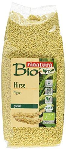 Rinatura Bio Hirse, 6er Pack (6 x 500 g Packung) - Bio
