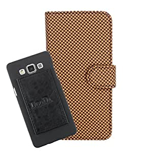 DooDa PU Leather Wallet Flip Case Cover With Card & ID Slots For Lava Iris Selfie 50 - Back Cover Not Included Peel And Paste
