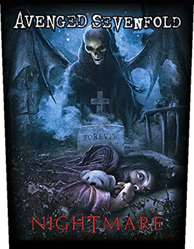 Toppa Avenged Sevenfold - Nightmare [, con stampa] [BP874]