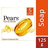 #9: Pears Pure and Gentle Bathing Bar, 125g (Buy 4 Get 1 Free)
