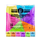 Original Mikrokonfetti im 6er Pack - Holi Farben Made in Germany