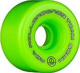 Rollerbones Team Logo Recreational Derby Räder Roller Skate Rollen (8Stück), grün