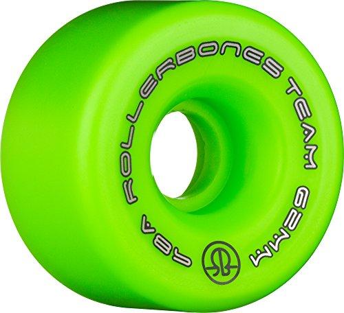 Rollerbones Team Logo Recreational Derby Räder Roller Skate Rollen (8Stück), grün -