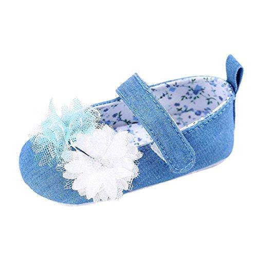 Alleinige Baby Weise Schuhe Hellblau Krippe weiche kleinkind mädchen neugeborene säuglingskind Art Und 2017 Omiky® 8xwqEIB7c