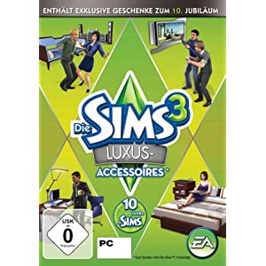 Die Sims 3: Luxus Accessoires Add-on [PC/Mac Instant Access]