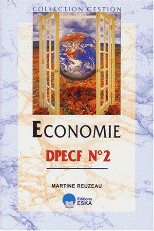 Economie : DPECF, numéro 2