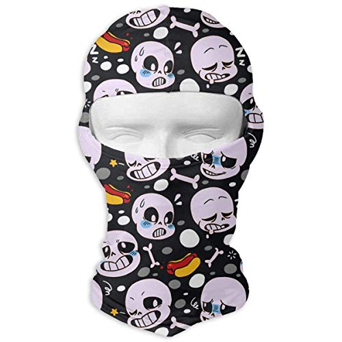 Alien Hot Dog Sun Protection Full Face Ski Mask - Motorcycle Helmet Liner Breathable Outdoor Sports Dust Head Balaclava Hood for Men & Women -