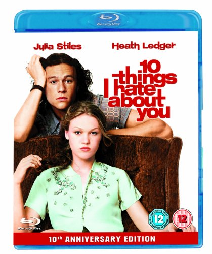 10 Things I Hate About You BD [Reino Unido] [Blu-ray] 51PR69JTsiL