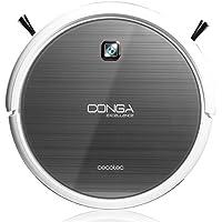 Cecotec Conga Excellence - Robot aspirador (4 en 1, barre, aspira, pasa la mopa y friega el suelo, silencioso, programable) color blanco