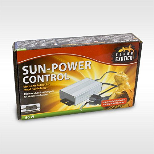 Elektronisches Vorschaltgerät Metalldampflampen (Sun-Power Control - EVG für Metalldampflampen - 50 Watt elektronisches Vorschaltgerät)