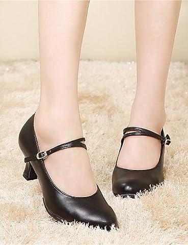 Modern Fashion Sandals Non Customizable Women's Dance Shoes Belly/Latin/Samba Leather