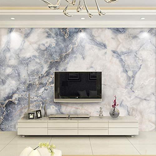 Marmorierte TV-Hintergrundwand Einfaches, modernes Wohnzimmer Nahtlose Wandverkleidung Maßgeschneiderte Größe Hochwertiger Öl-Leinwanddruck