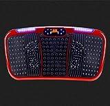 MJ-Sports Piatto Compatto Compatto di Vibrazione, Piatto oscillante di Vibrazione di Fitness Piattaforma oscillante Attrezzatura per Esercizi Potenza Fitness Macchina Wobble Board