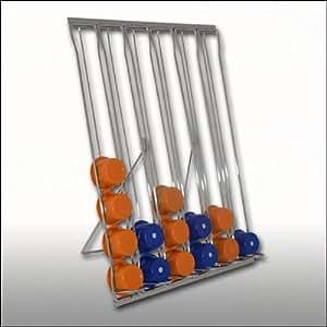 Dispenser 60 posti porta capsule in metallo cromato per - Nespresso porta cialde ...