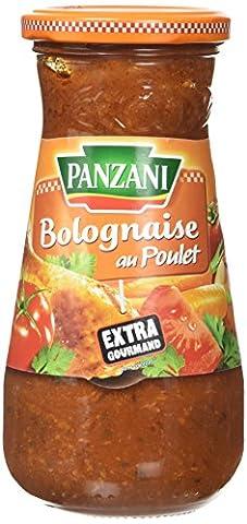 Panzani Sauce Bolognaise au Poulet 400 g - Lot de 2