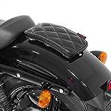 Sozius Saugnapf Sitzpad für Harley Davidson Sportster 883 Iron (XL 883 N) Craftride Diamond schwarz