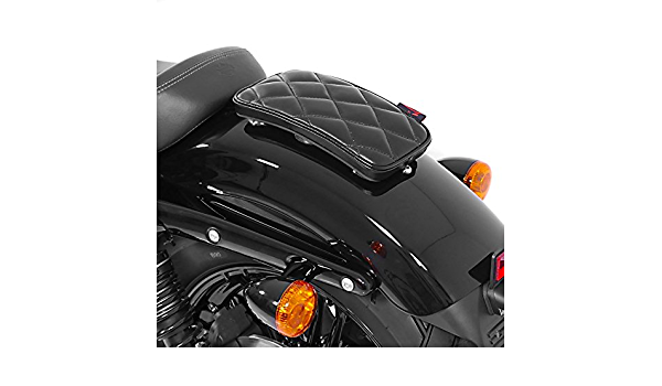Sozius Saugnapf Sitzpad Für Honda Rebel 500 Craftride Diamond Schwarz Auto