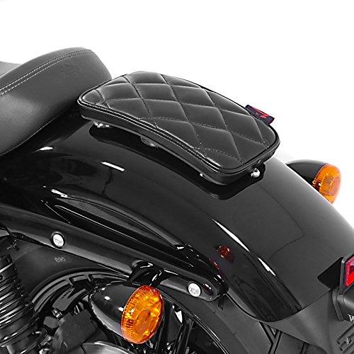 Sozius Saugnapf Sitzpad Triumph Speedmaster Craftride Diamond schwarz
