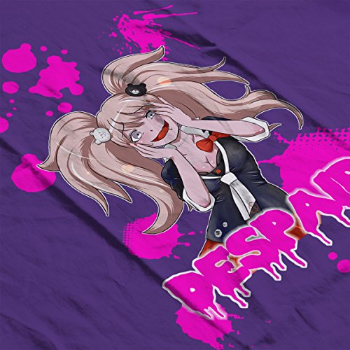Despair Junko Enoshima Danganronpa Women's Hooded Sweatshirt purple