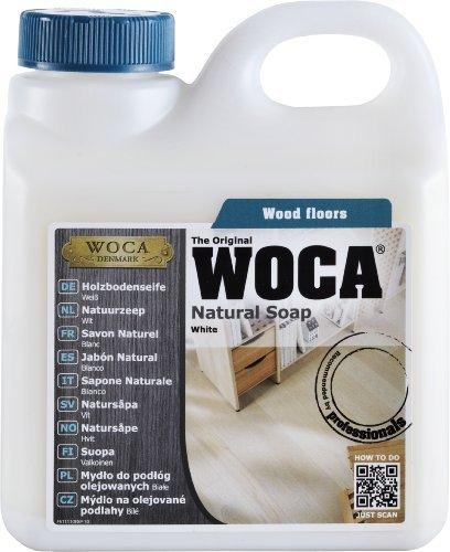 Woca Holzbodenseife Weiß 2,5 Liter für weiß geölte Holzböden