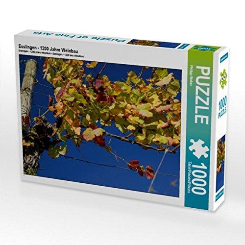 Esslingen - 1200 Jahre Weinbau 1000 Teile Puzzle quer (CALVENDO Orte) Preisvergleich