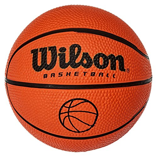 WILSON Basketball NCAA Micro BALL, Orange, Micro