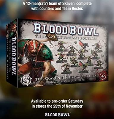 Blood Bowl - The Skavenblight Scramblers 200-11