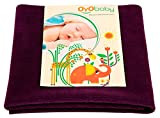 OYO BABY Quickly Dry Super Soft Cotton Waterproof and Reusable Mat/Mattress Protector, Large