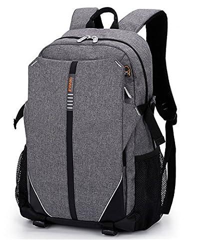 YAAGLE Damen und Herren Laptoprucksack für 15.6 Zoll unisex wasserdicht Schultasche multifunktional reiserucksack (Solid Gold Taschenuhr)