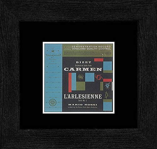 Stick It On Your Wall Mario Rossi/Vienna State Opera Orchestra–Orchester-Suite von Carmen gerahmtes Mini Poster–18x 18cm