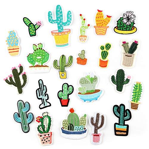 Kaktus Kostüm Basteln - Ototon Aufnäher, Bestickt, Kaktus, Stickerei, kreativ,