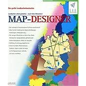 Map-Designer, 1 CD-ROM Der große Landkartenbaukasten. Für Windows 95/98/NT 4.0