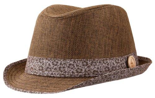 Trilby Hut von Chillouts Modell Orlando, Farben:braun